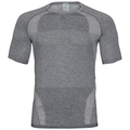 T-shirt technique HIKE pour homme, black melange, large