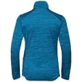 STEAM Midlayer, mykonos blue melange, large
