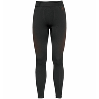Men's PERFORMANCE WARM ECO Baselayer Pants, black - orange.com, large
