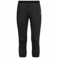 Men's ACTIVE F-DRY LIGHT ECO 3/4 Base Layer Pants, black, large