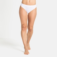 Women's ACTIVE F-DRY LIGHT ECO Sports Underwear String Brief, white, large