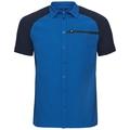 Shirt s/s SAIKAI COOL PRO, energy blue - diving navy, large