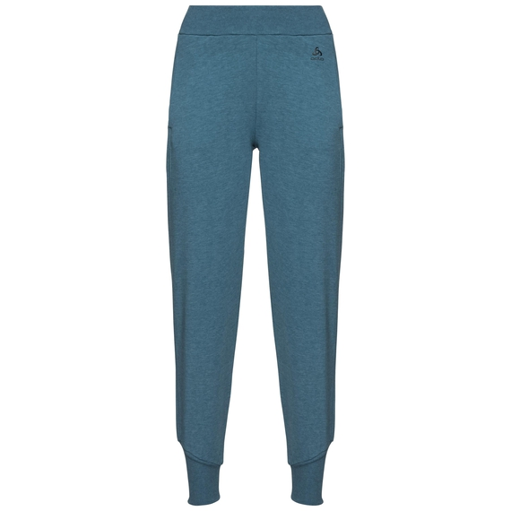Women's ALMA NATURAL Pants, agean blue melange, large