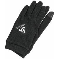 Gants NATURAL + WARM, black, large