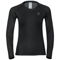 Damen ACTIVE F-DRY LIGHT Funktionsunterwäsche Langarm-Shirt, black, large