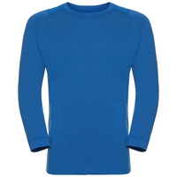 BL TOP Crew neck l/s SAIKAI CERAMIWOOL, energy blue, large