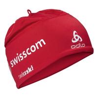 POLYKNIT FAN Hat, Swiss Fan with Swisscom 2010, large