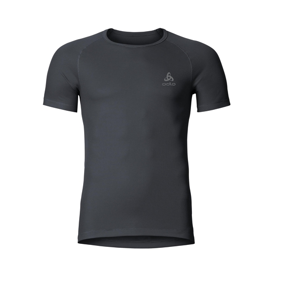 CUBIC baselayer shirt, ebony grey - black, large