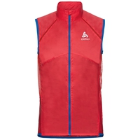 Bodywarmer OMNIUS LIGHT, fiery red - energy blue, large