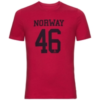 T-Shirt SIGNO, jester red, large