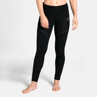 Women's ACTIVE X-WARM Base Layer Pants, black, large