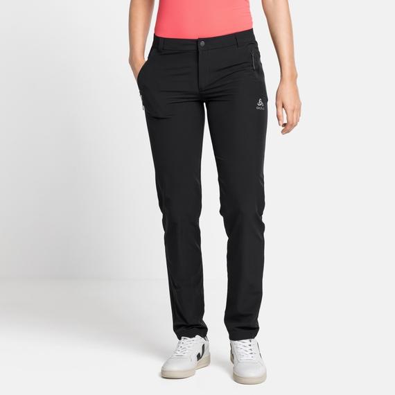 Damen FLI Hose, black, large
