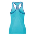 Ceramicool seamless baselayer singlet women, blue radiance - spectrum blue, large