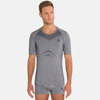 Men's PERFORMANCE EVOLUTION Sports Underwear T-Shirt, grey melange, large