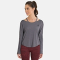 BL Top Crew neck l/s MAIA EASE, odlo graphite melange, large