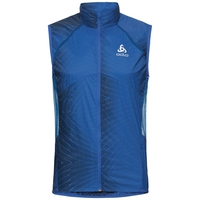 Vest OMNIUS Light, energy blue - AOP SS18, large