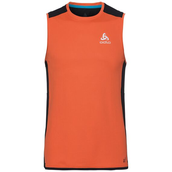BL TOP Crew neck Tank OMNIUS F-Dry, flame - black, large