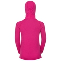 SUW Top with Facemask l /s ACTIVE ORIGINALS Warm Kids, beetroot purple, large