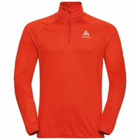 Men's CARVE LIGHT 1/2 Zip Midlayer, orange.com, large