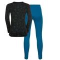 Set ACTIVE ORIGINALS Warm Kids, mykonos blue - black, large