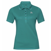 Polo shirt s/s GEORGIA RT, silver pine, large