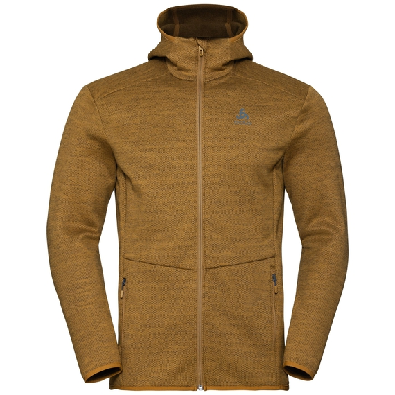 Men's HAVEN X-WARM Midlayer Hoody, golden brown, large