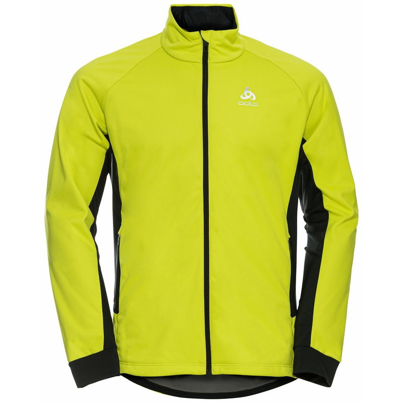 The Brensholmen jacket, evening primrose - black, large