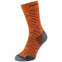 Uniseks CERAMICOOL HIKE GRAPHIC-sokken, marmalade - graphic SS21, large