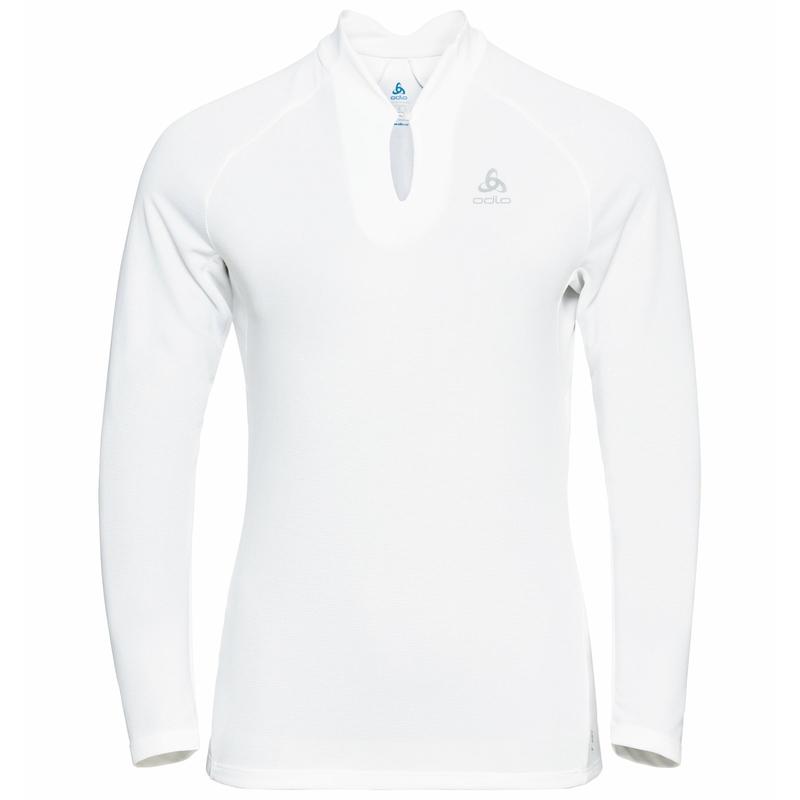 Damen F-DRY Langarm-Shirt, white, large