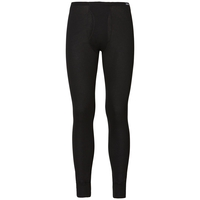 WARM Baselayer pants with fly, black, large