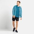 T-shirt de running ZEROWEIGHT ENGINEERED CHILL-TEC pour homme, mykonos blue melange, large