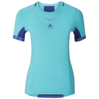 T-shirt baselayer CeramiCool pro femme, blue radiance - spectrum blue, large