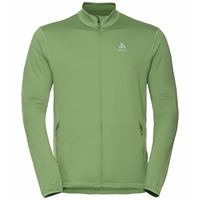 Men's ALAGNA Full-Zip Midlayer Top, green eyes, large