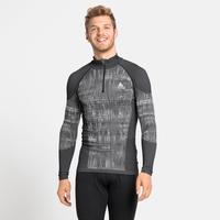 Herren BLACKCOMB Baselayer-Shirt, black, large