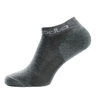 ACTIVE Low Socks 2-Pack, grey melange, large