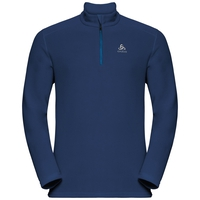 Men's LE TOUR 1/2 Zip Midlayer, estate blue, large