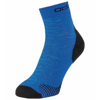 Unisex CERAMICOOL RUN GRAPHIC Quarter Socks, horizon blue - graphic SS21, large
