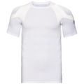 Men's ACTIVE SPINE LIGHT Base Layer Top, white, large