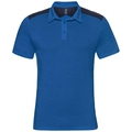 Polo s/s SAIKAI CERAMIWOOL, energy blue, large