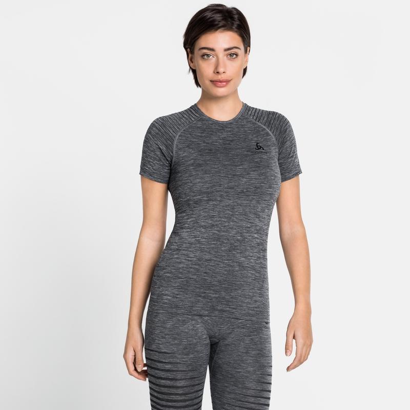 T-shirt technique PERFORMANCE LIGHT pour femme, grey melange, large