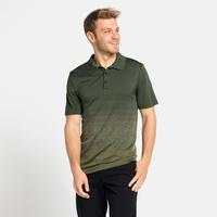 Men's HALDEN Polo Shirt, climbing ivy - matte green, large