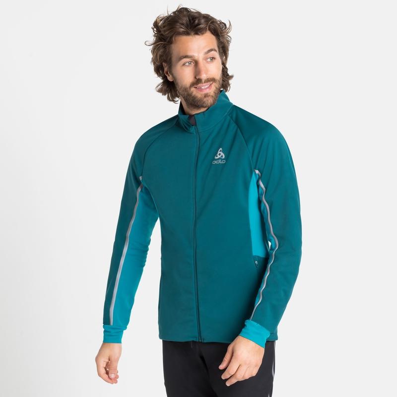 Men's AEOLUS PRO Jacket, submerged - tumultuous sea, large