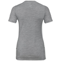 NATURAL 100% MERINO WARM T-Shirt, grey melange - black, large