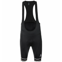 Men's ZEROWEIGHT DUAL DRY Cycling Bib Shorts, black, large
