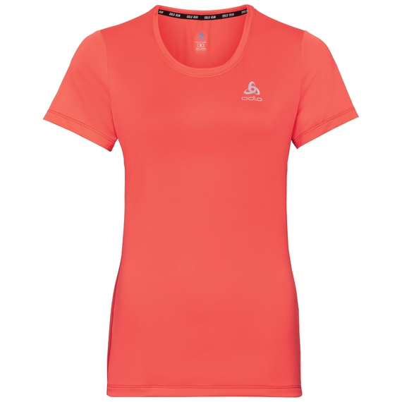 BL TOP Crew neck s/s ELEMENT Light Special, hot coral, large