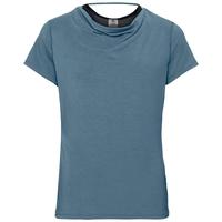 T-shirt de sport MAHA pour femme, agean blue, large