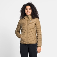 Women's HOODY COCOON N-THERMIC WARM Insulated Jacket, dull gold melange, large
