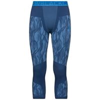 Men's BLACKCOMB 3/4 Base Layer Pants, estate blue - directoire blue - directoire blue, large