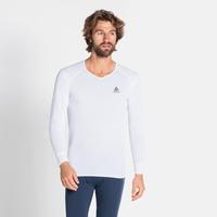 (Shirt l/s v-neck) ACTIVE WARM ECO, white, large