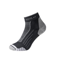 RUNNING BTS Quarter Socks, black - white, large